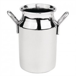 Mini Milk Churn Stainless Steel Medium