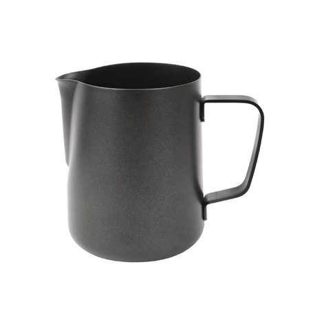Olympia Black Non-Stick Milk Frothing Jug 570ml