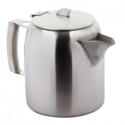 Olympia Airline Teapot Stainless Steel 56oz