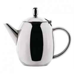 Olympia Richmond Teapot Stainless Steel 60oz