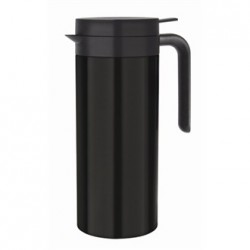 Olympia Black Vacuum Coffee Jug