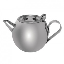 Olympia Stacking Teapot Stainless Steel