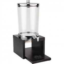 APS Wood Base Juice Dispenser Black