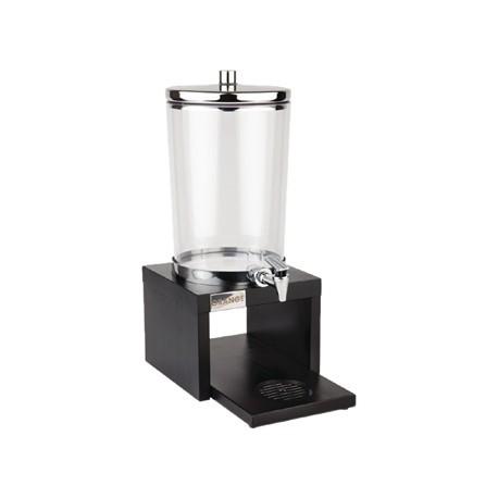 APS Wood Base Juice Dispenser Black
