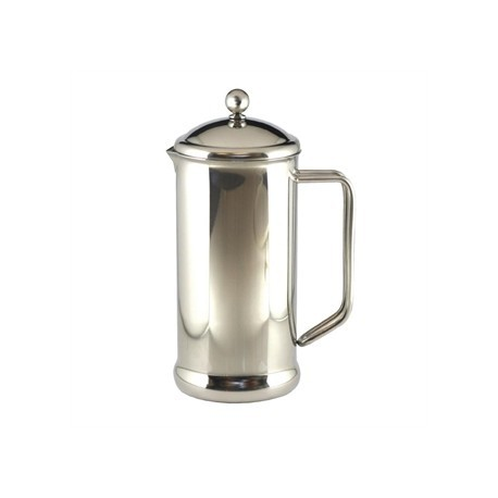 Cafetiere Stainless Steel Polished Finish 8 Cup