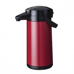 Bravilor Furento 2.2Ltr Airpot with Pump Action Metalic Red