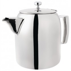 Olympia Cosmos Tea Pot Stainless Steel 50oz