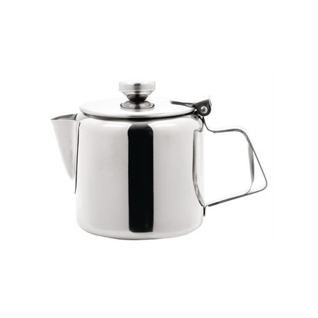 Olympia Concorde Tea Pot Stainless Steel 16oz