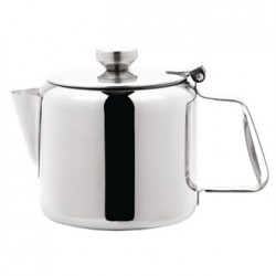 Olympia Concorde Tea Pot Stainless Steel 32oz