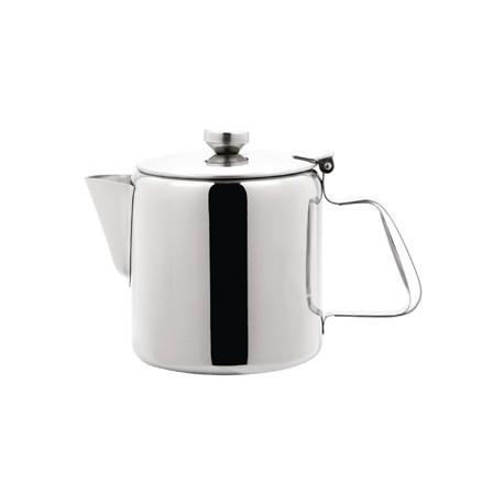 Olympia Concorde Tea Pot Stainless Steel 48oz