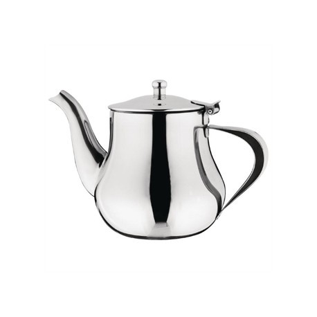 Olympia Arabian Tea Pot Stainless Steel 24oz