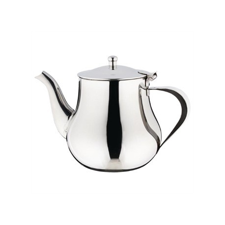 Olympia Arabian Tea Pot Stainless Steel 35oz