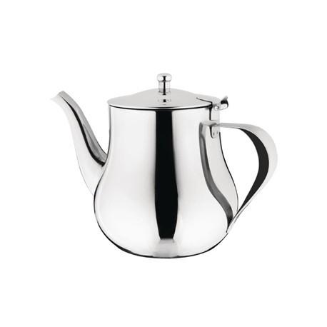 Olympia Arabian Tea Pot Stainless Steel 48oz