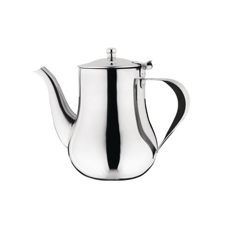 Olympia Arabian Coffee Pot Stainless Steel 35oz