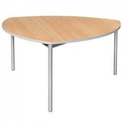 Gopak Enviro Indoor Beech Effect Shield Dining Table 1500mm