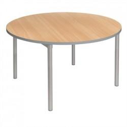 Gopak Enviro Indoor Beech Effect Round Dining Table 900mm
