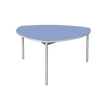 Gopak Enviro Indoor Campanula Blue Shield Dining Table 1500mm