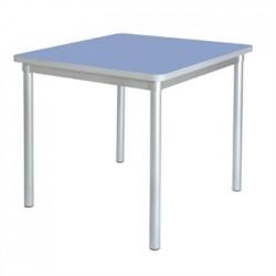 Gopak Enviro Indoor Campanula Blue Square Dining Table 750mm