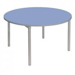 Gopak Enviro Indoor Campanula Blue Round Dining Table 900mm