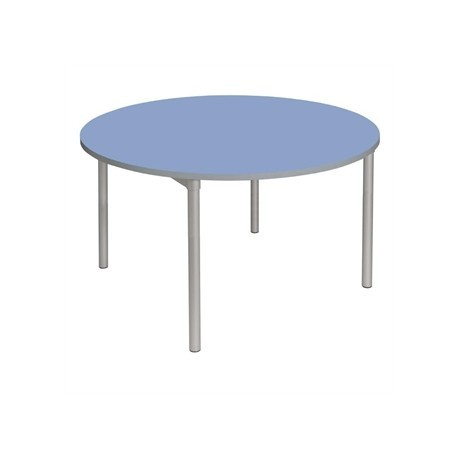 Gopak Enviro Indoor Campanula Blue Round Dining Table 900mm