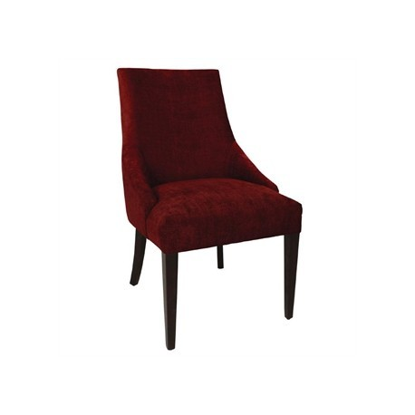 Bolero Dark Red Finesse Dining Chairs (Pack of 2)