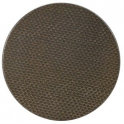 Werzalit Round Table Top Rattan Mocca 600mm
