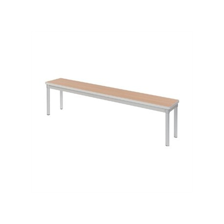 Gopak Enviro Indoor Beech Effect Dining Bench 1600mm