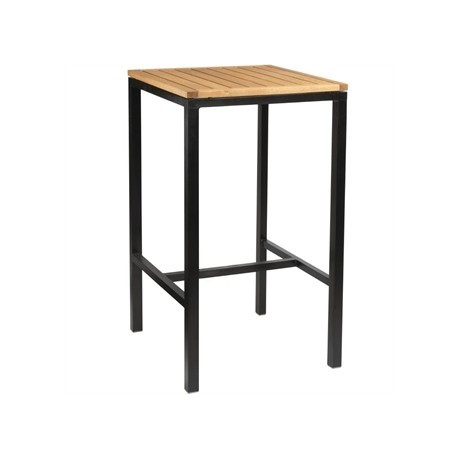 Bolero Wooden Square Poseur Height Table 600mm