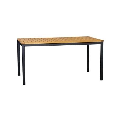 Bolero Wooden Rectangle Table 1200mm