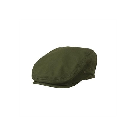 Chef Works Urban Rockford Pigment Dye Canvas Flat Cap Olive Green ... 1bb57051fa9
