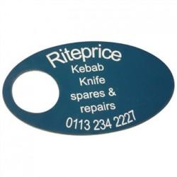 Heat Shield For Metal Kebab Knife