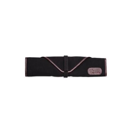 Boldric  Canvas Knife Bag Black 6 Slots