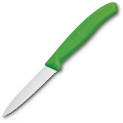 Victorinox Paring Knife Serrated Green 8cm