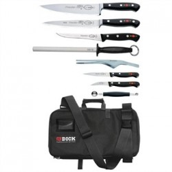 Dick Premier Plus 8 Piece Knife Set With Case
