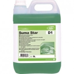 Suma Star D1 Washing Up Liquid 2 Pack