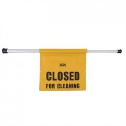 Closed for Cleaning Telescopic Sign