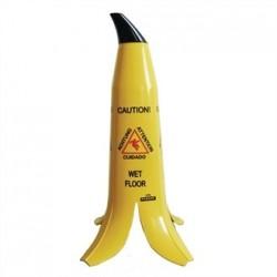 Banana Skin Wet Floor Sign