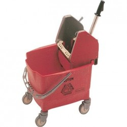 Rubbermaid Mop Wringer and Bucket Red