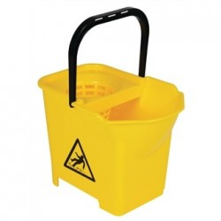 Jantex Colour Coded Mop Bucket Yellow