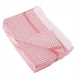 Vogue Wonderdry Red Tea Towels