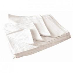 Vogue Cloths White Honeycomb Weave