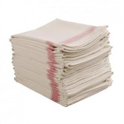 Vogue Heavy Tea Towel Red
