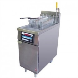 Falcon Infinity Twin Basket Natural Gas Fryer G2844F