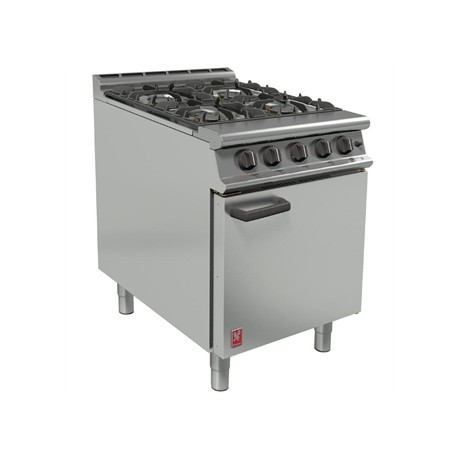 Falcon 4 Burner Dominator Plus Oven Range G3161 Natural Gas with Feet