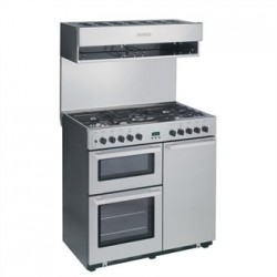Burco Cook Centre 4 Burner Dual Fuel Range CC90DF