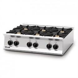 Lincat Opus 800 Propane Gas 6 Burner Boiling Top OG8004/P