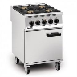 Lincat Opus 800 Natural Gas 4 Burner Dual Fuel Oven Range OD8006/N