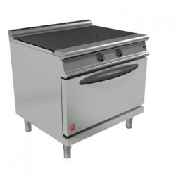 Falcon Dominator Plus Solid Top Natural Gas Oven Range G3107D with Feet