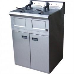 Falcon Pro-Lite Free Standing Double Electric Fryer LD48