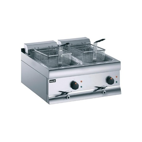 Lincat Silverlink Double Tank Countertop Fryer DF612